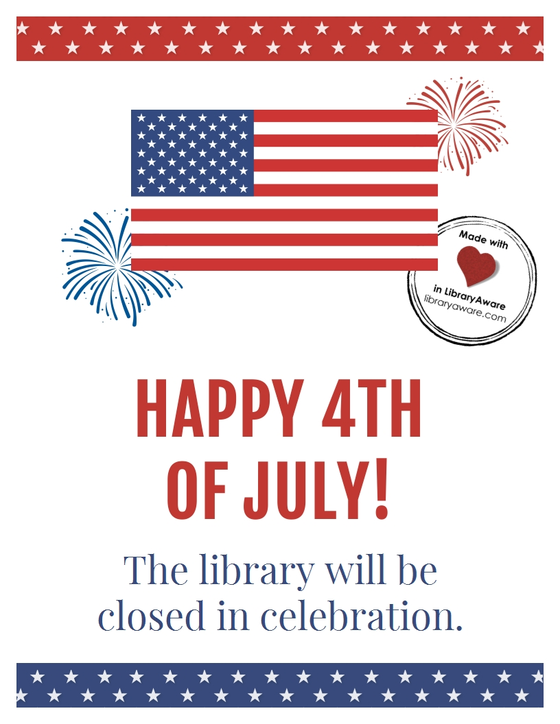 Customize Or Print This 4Th Of July Closing Sign Sized As A-July 4Th Closed Sign Template
