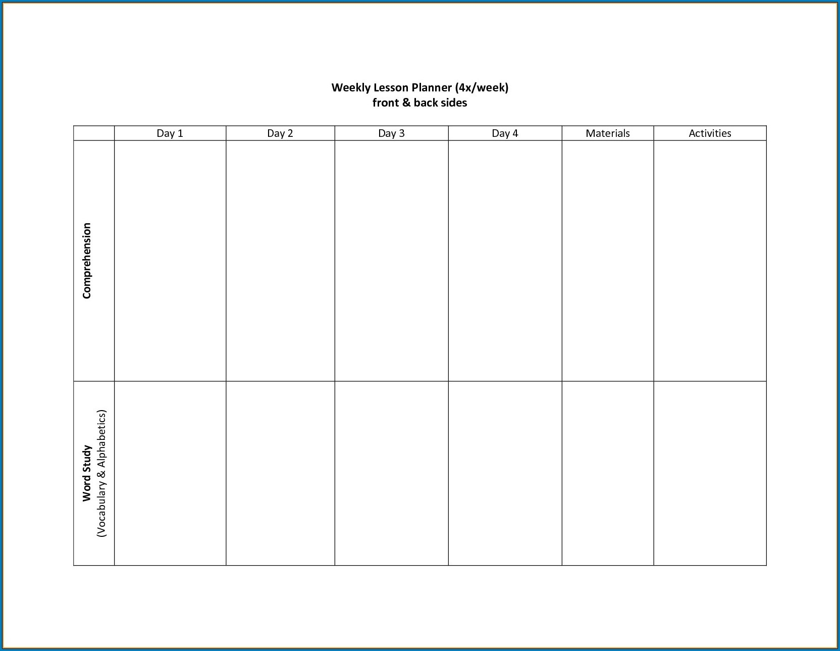 √ Free Printable 2 Week Calendar Template | Templateral-2 Week Schedule Template Printable