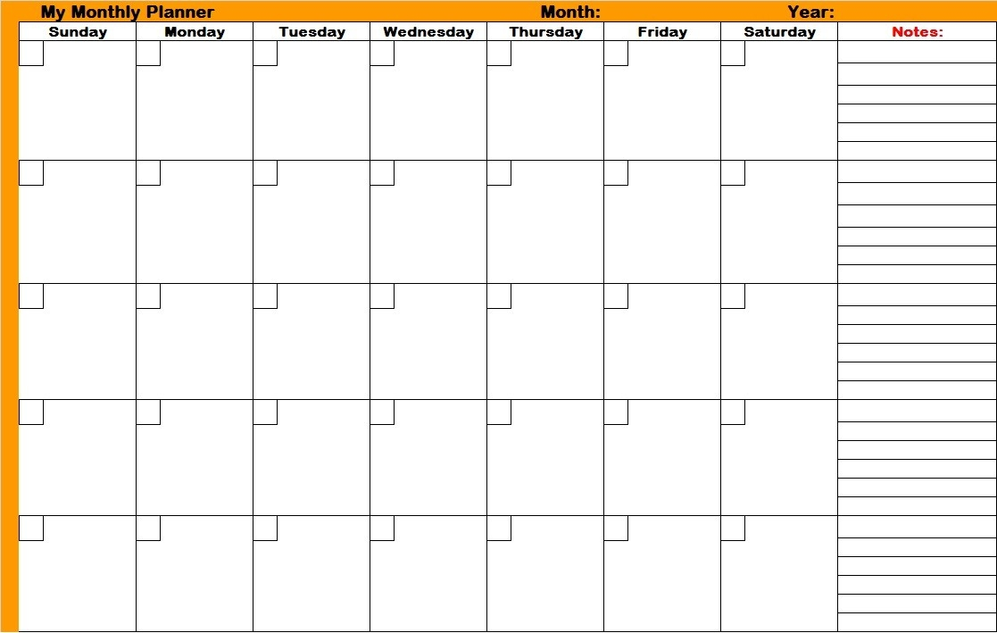File:monthly-Planners-Printable-Planners - Wikimedia Commons-Monday To Sunday Monthly Planners