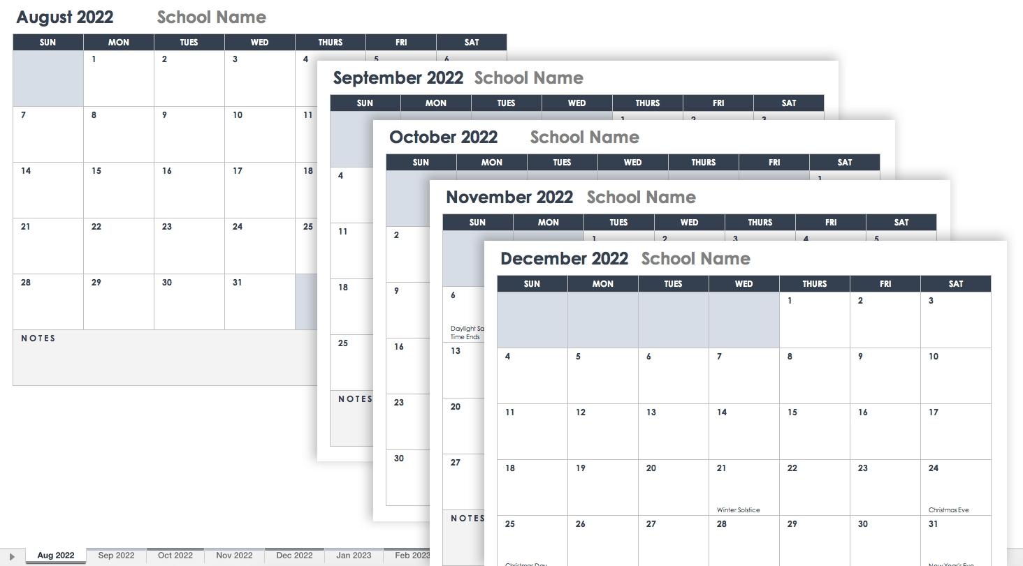 Free Excel Calendar Templates-Calendar Templates By Vertex