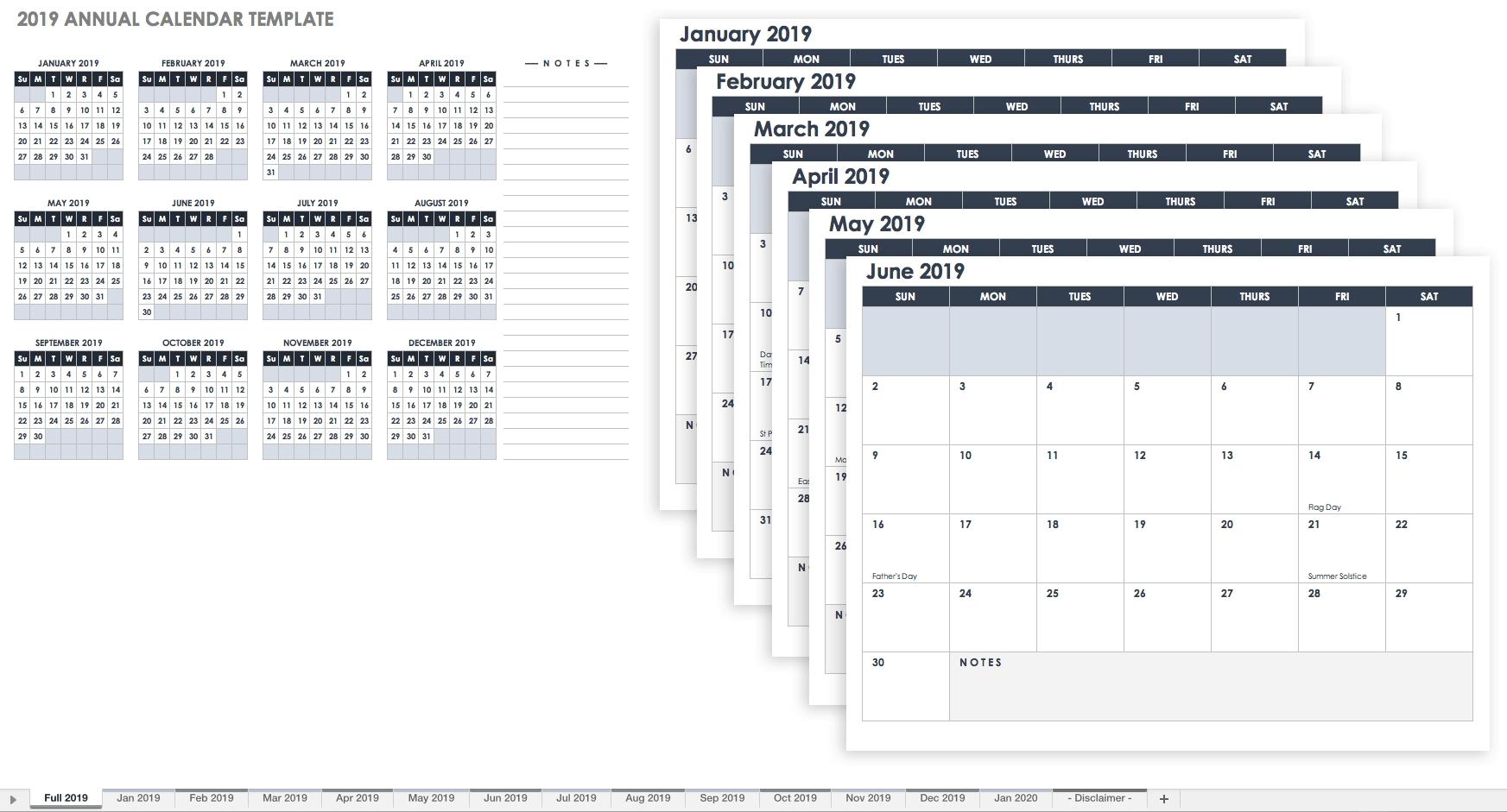 Free Printable 2020 Employee Attendance Calendar - Peri.con-2020 Employee Attendance Template