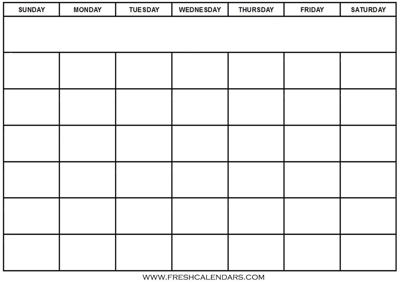 Free Printable Blank Calendar 2020-Print Blank Calander Microsoft 365