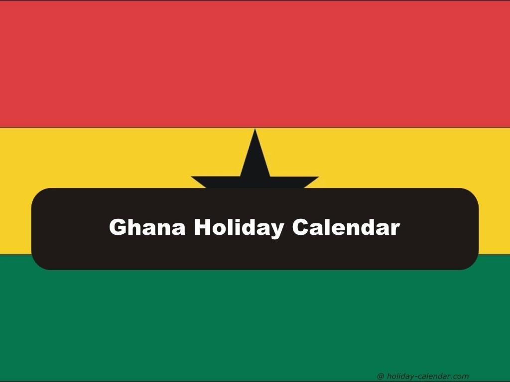 Ghana 2019 / 2020 Holiday Calendar-2020 Calendar With Holidays In Ghana