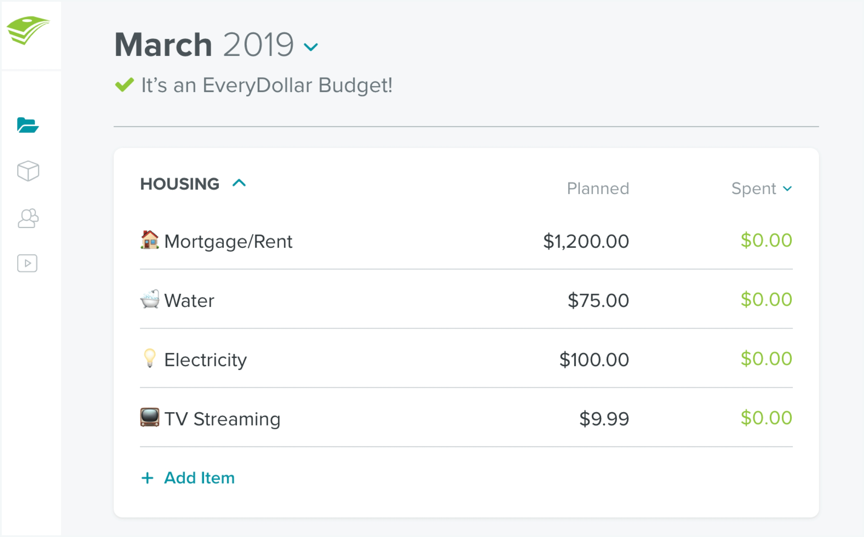 How To Create A Monthly Budget | Everydollar-Make A Monthly Bill Chart