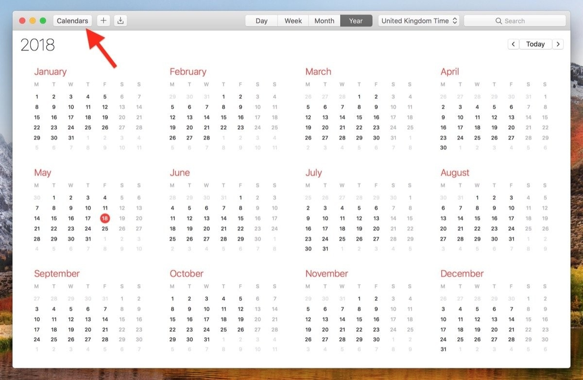 How To View All Events As A List In Your Mac's Calendar App-Monthly View Iphone Calendar