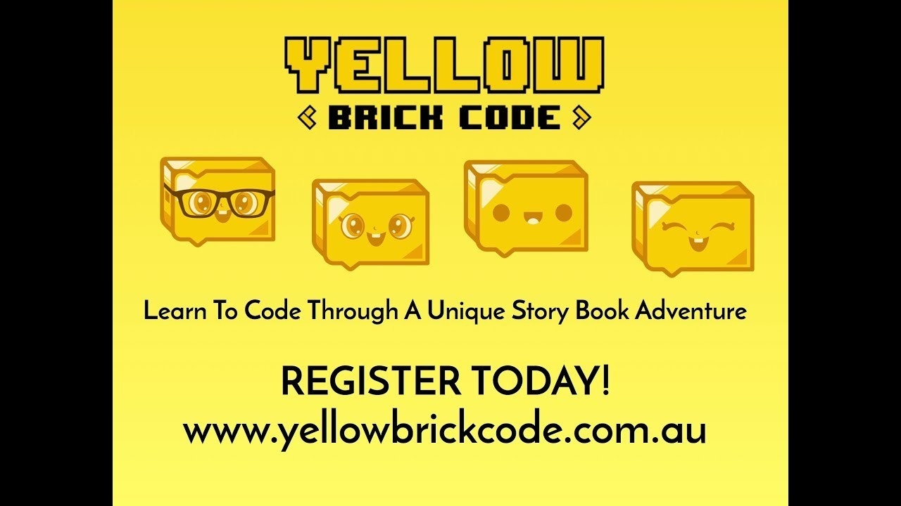 Introducing Yellow Brick Code - Our School Holiday Program For 5-10 Year  Olds In Melbourne-Lowther Hall School Holidays