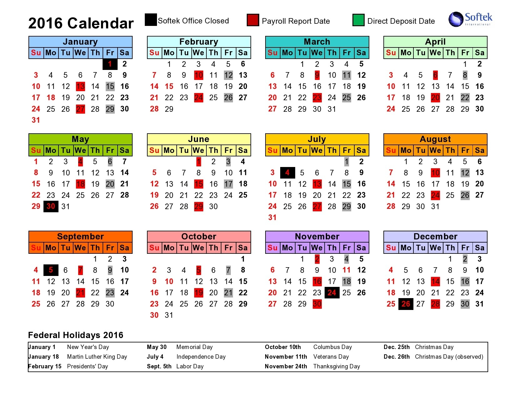 Intuit Payroll Holiday Calendar 2020 | Payroll Calendar 2020-Biweekly Payroll Calendar 2020 Template