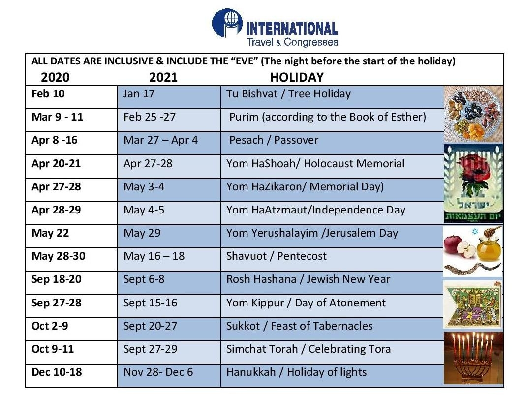 Jewish Holidays « Internationaltravelcongresses-Dates Of Jewish Holidays