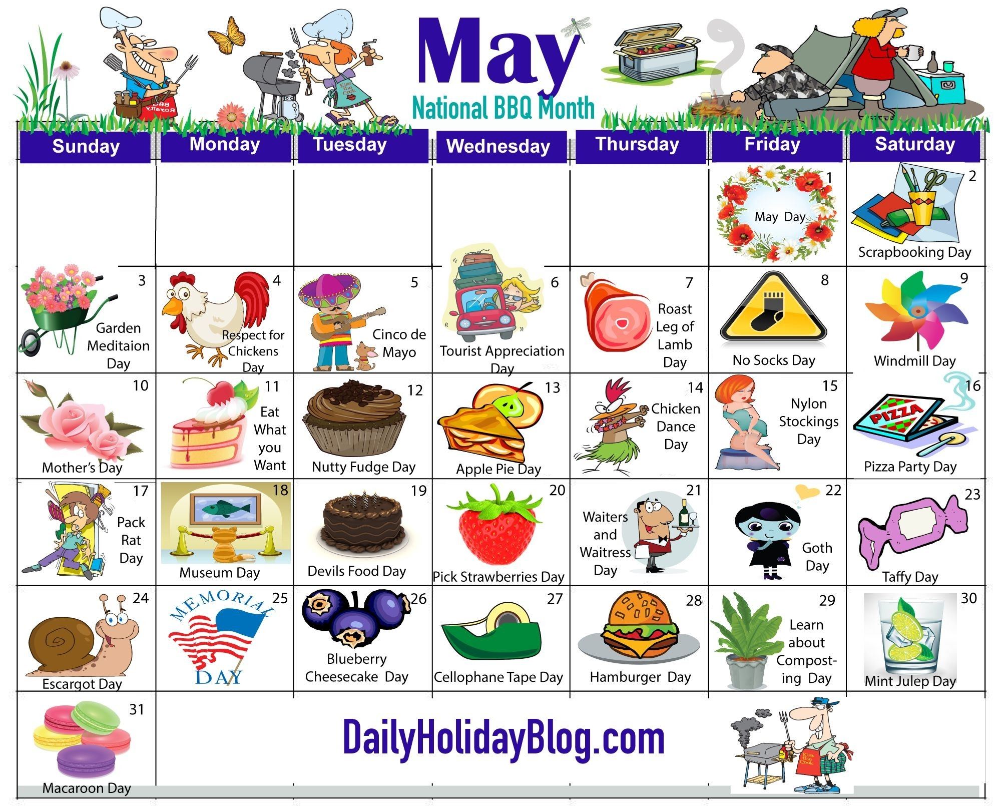 May Holiday Calendar … | Holidays In May, Wacky Holidays-September 2020 Daily Holidays Special And Wacky Days