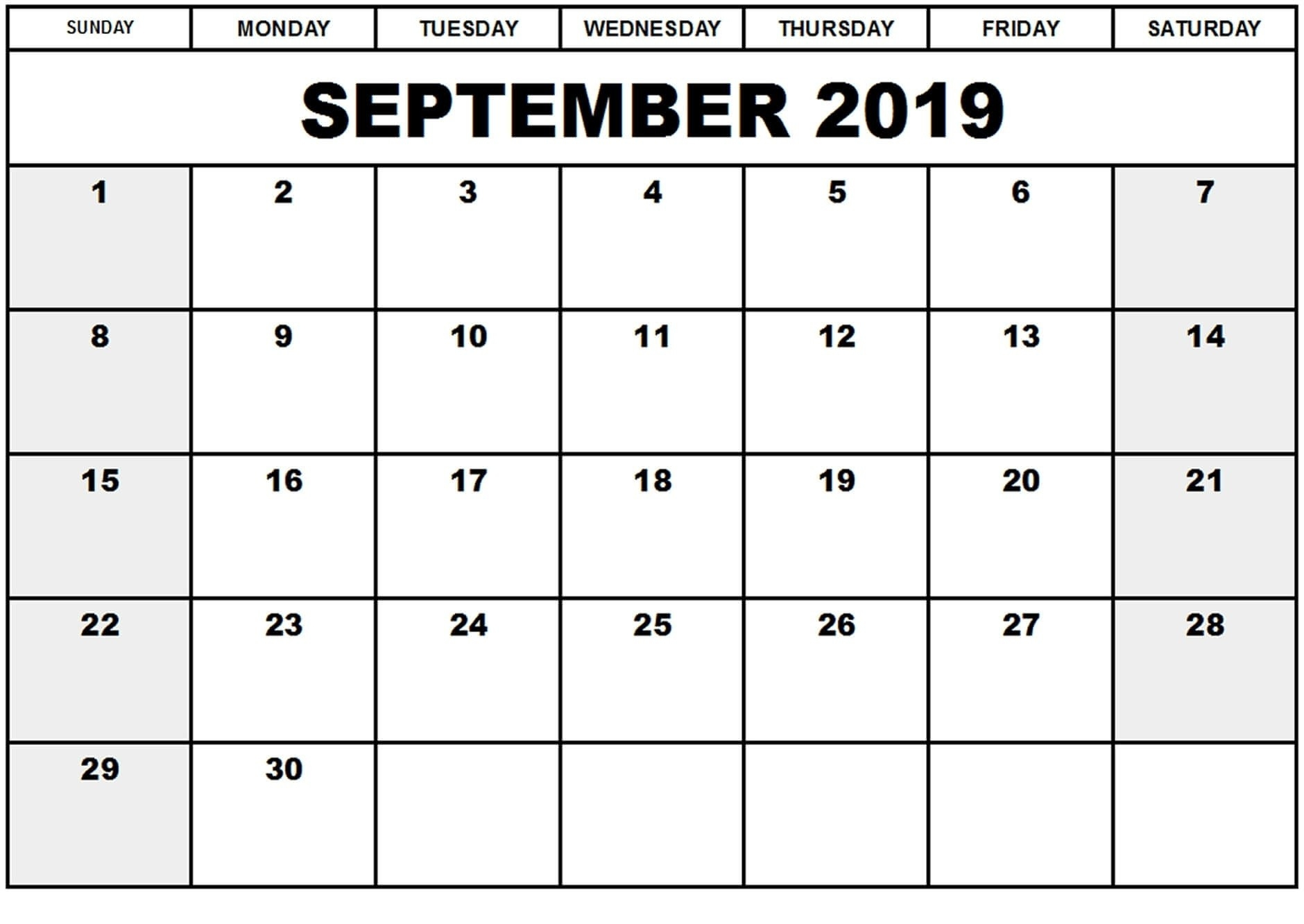Online September 2019 Calendar Canada Holidays | Free-December Canada Printable Calendar Free Monthly