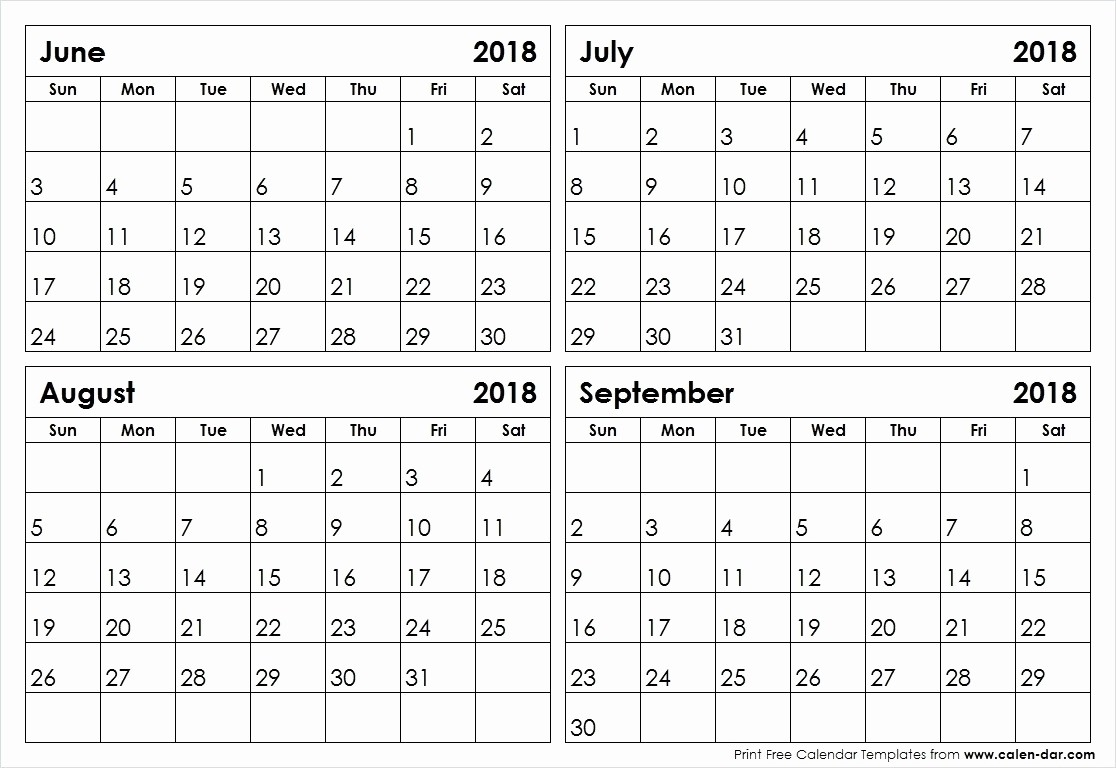 Printable Calendar Month Per Page | Monthly Printable Calender-Blank Calendar Template 2 Months Per Page