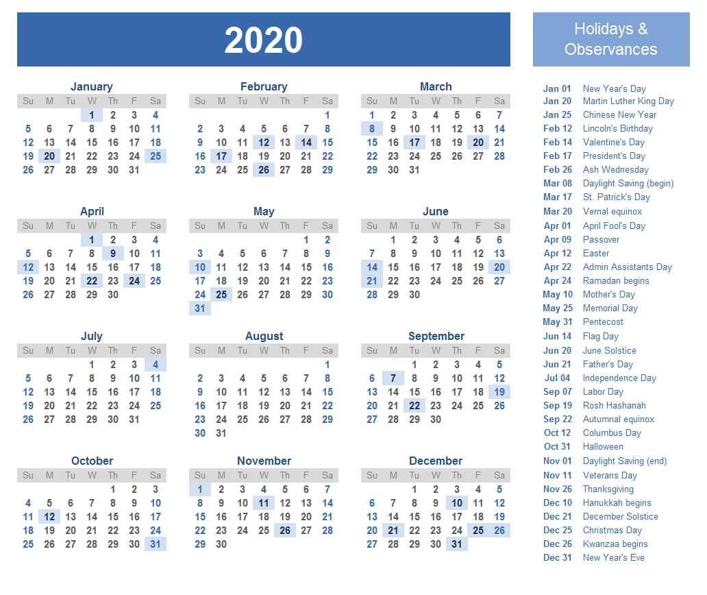 Printable Template Calendar-2020 Calendar With Hebrew Holidays Printable