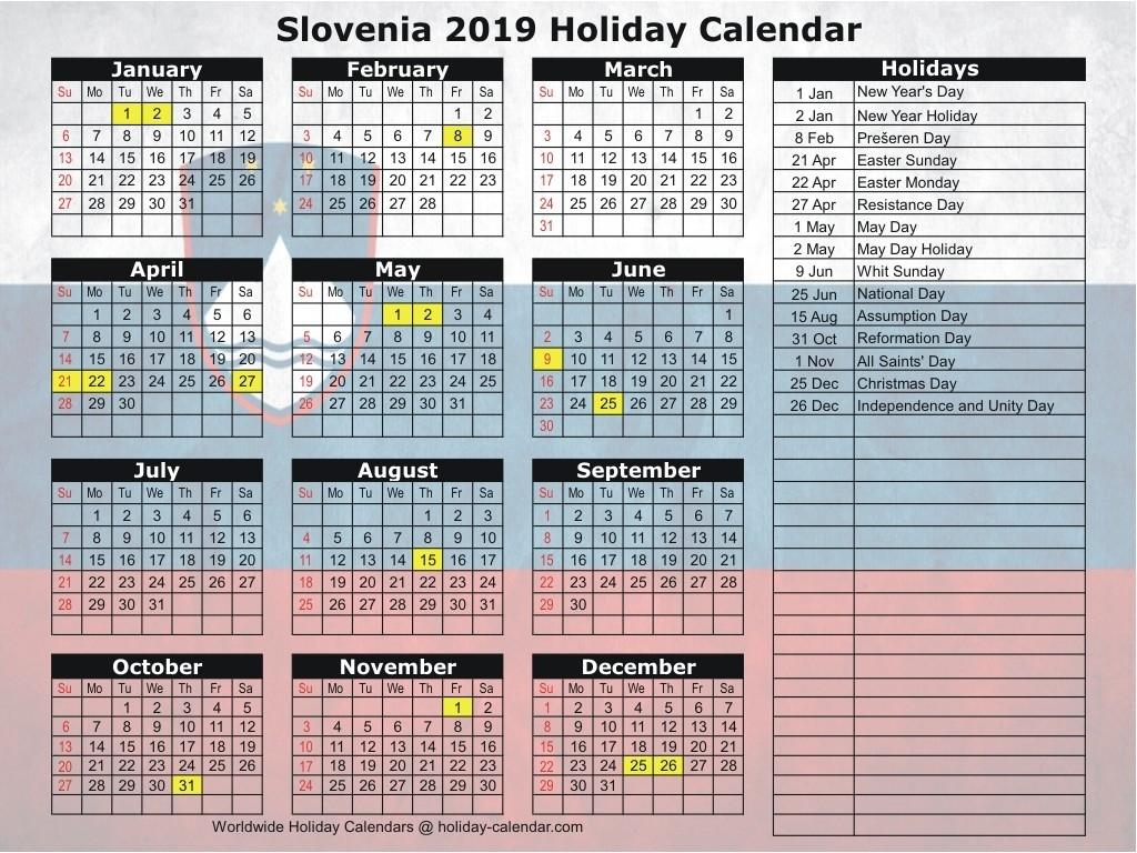 Slovenia 2019 / 2020 Holiday Calendar-Saudi Bank Holidays 2020