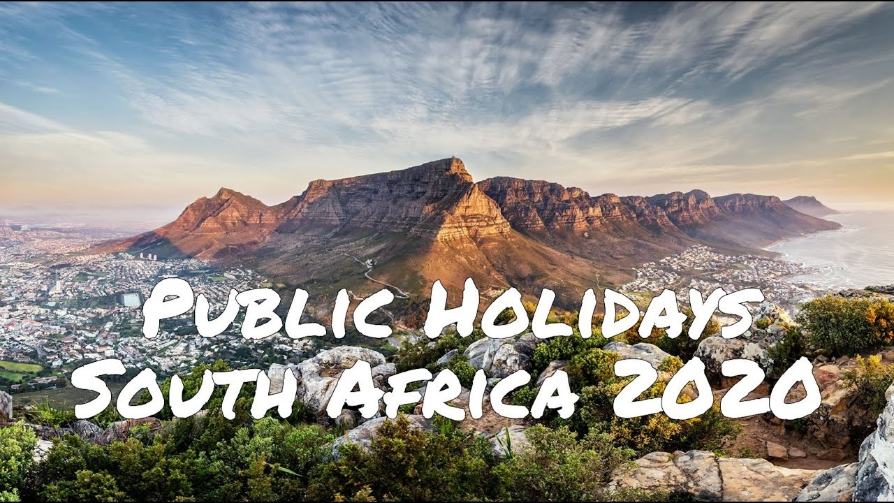 South African Public Holidays In 2020-South Africa Holidays 2020