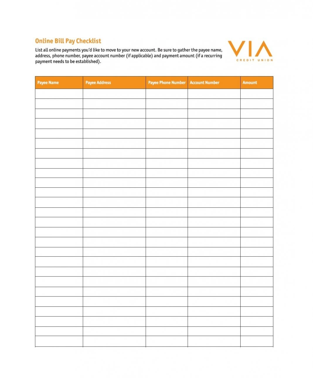 Spreadsheet Examples Printable Monthly Bill Chart Ting Ideas-Free Printable Monthly Bills Chart