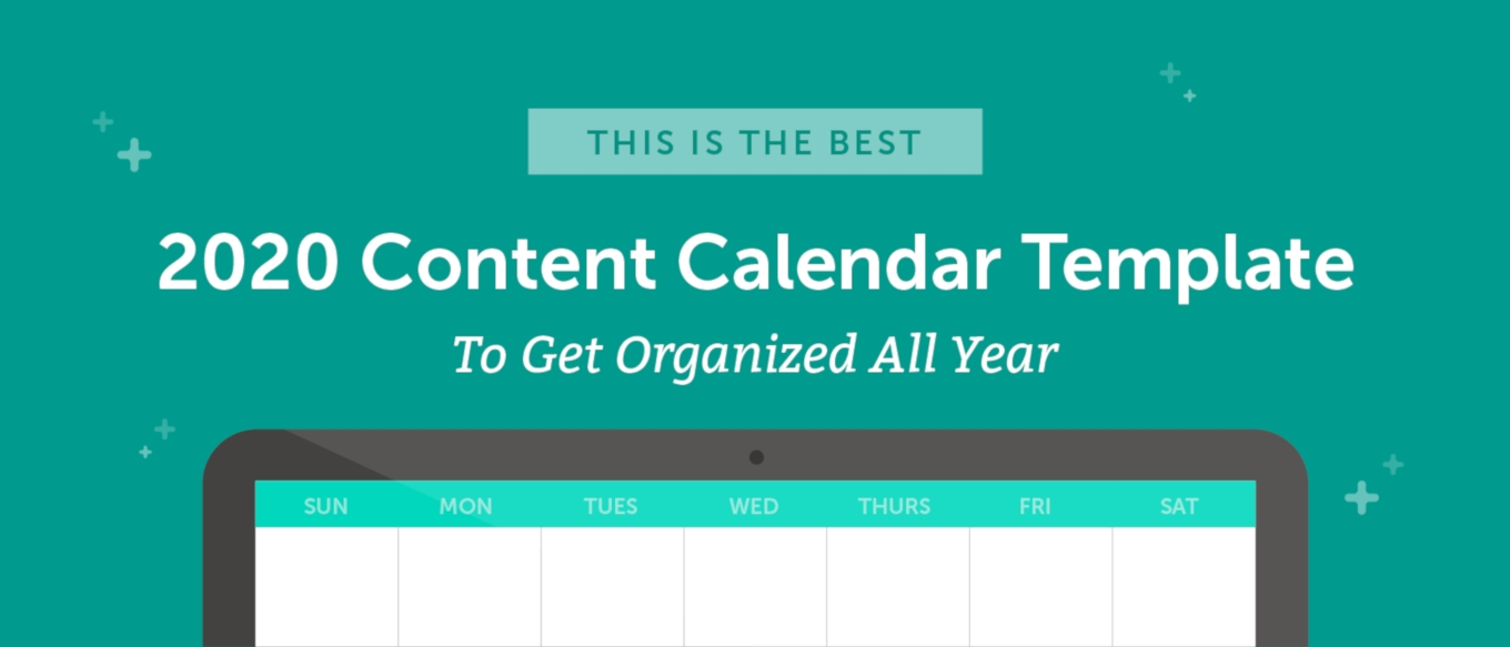 The Best 2020 Content Calendar Template: Get Organized All Year-Blank Calendar Printable Three Months Togather