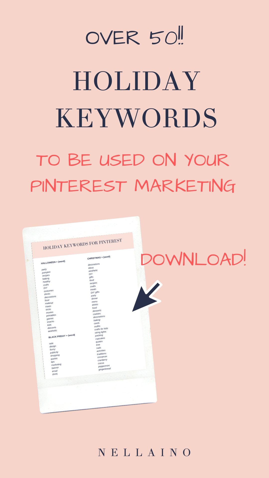 Updated For 2019 And 2020! - 50+ Holiday Pinning Keywords-2020 Food Holidays List