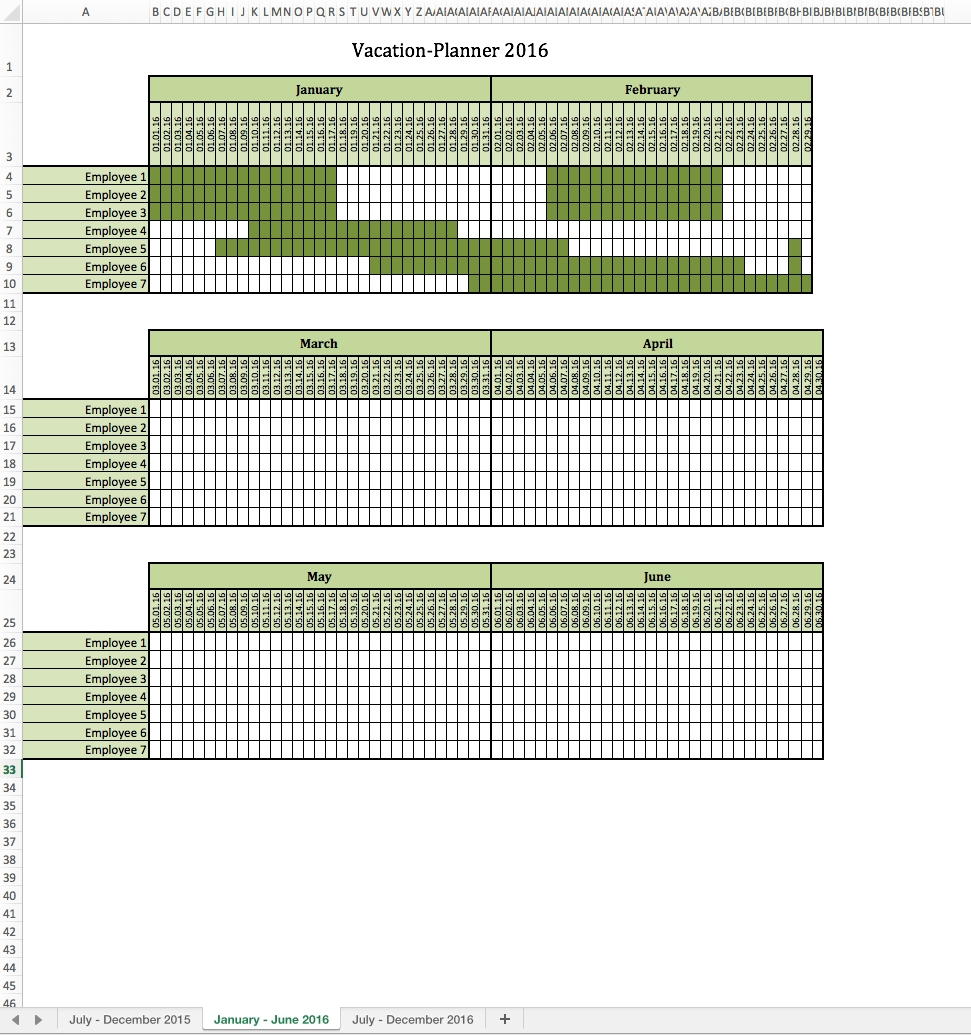 Vacation-Planner 2016-Vacation Planner Template 2020