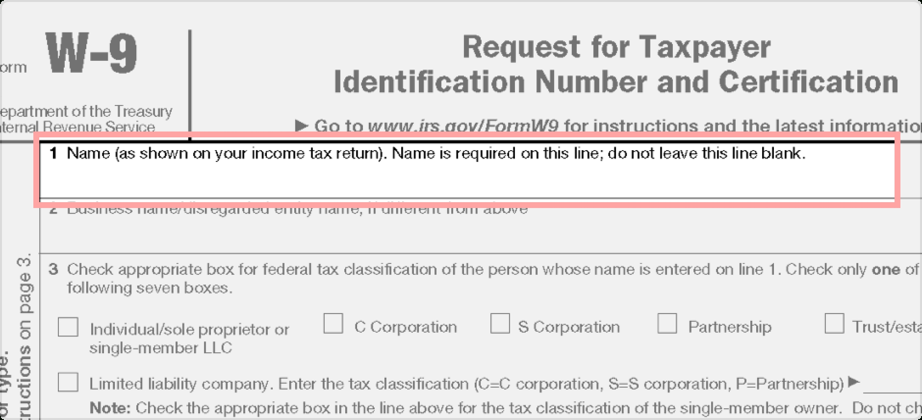 W-9 Form: Fillable, Printable, Download Free. 2019 Instructions-Blank W 9 Form 2020 Printable