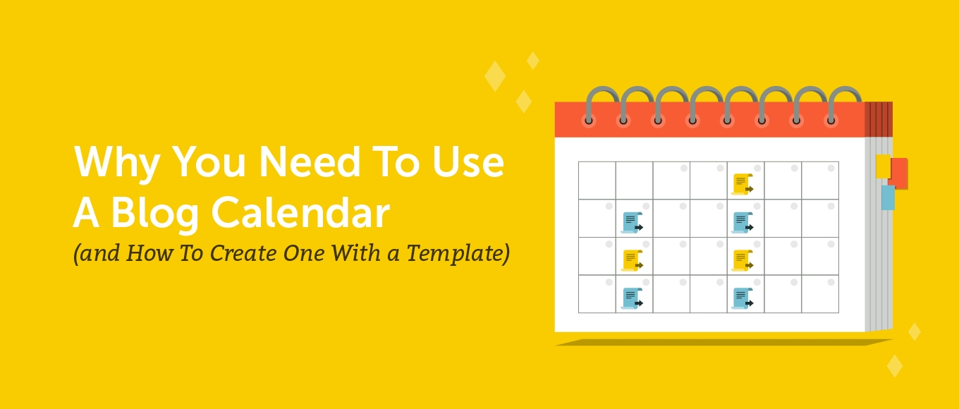 Why You Need To Use A Blog Calendar (Create One With This-Blog Post Schedule Template 2020