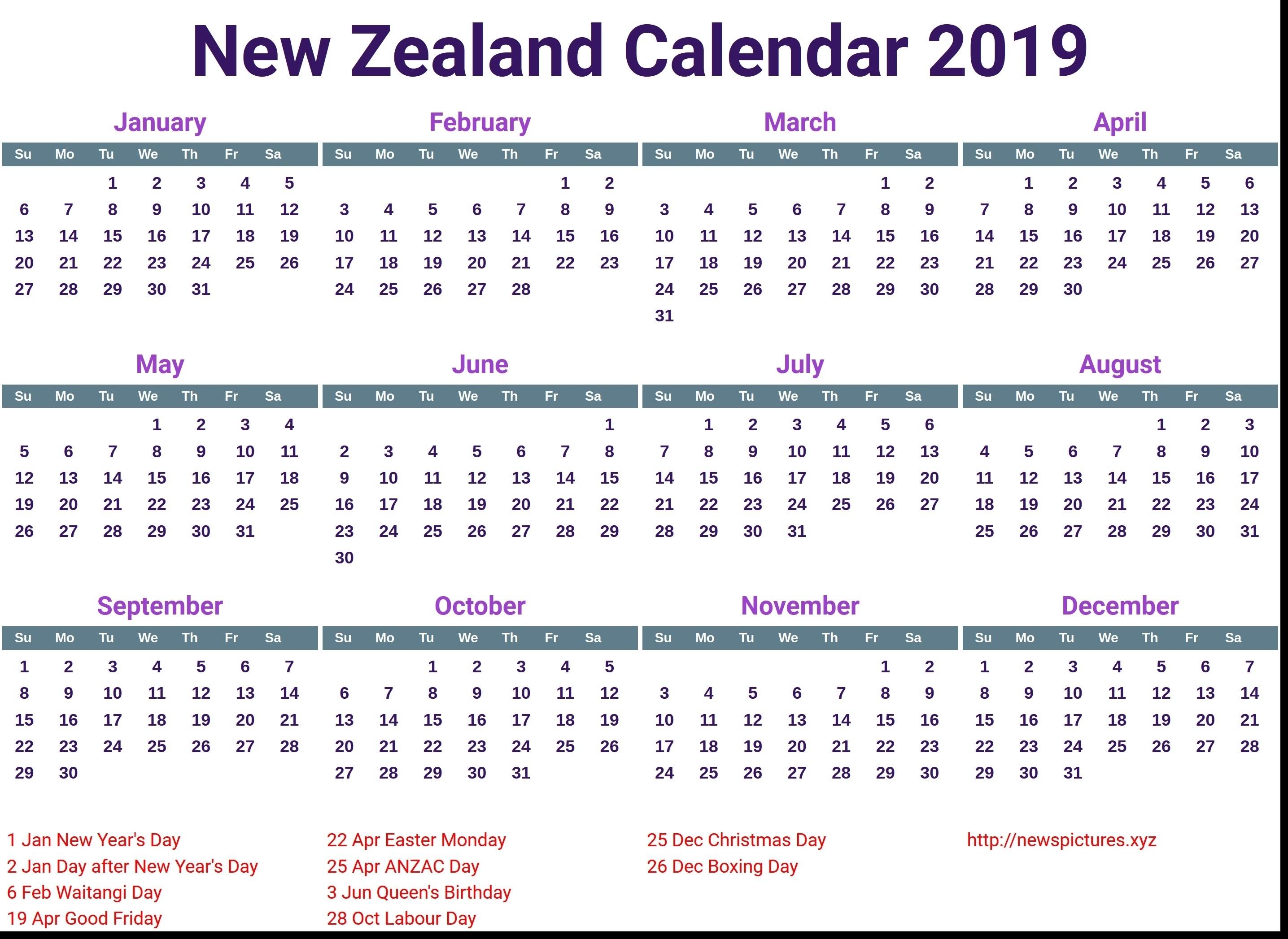2018 Nz School Holidays 2017 | Venture Inspire-School Holidays Nz Calendar