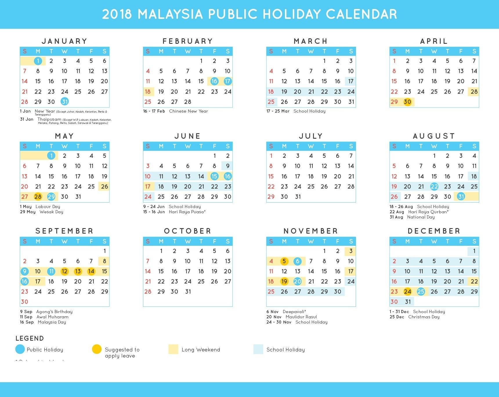 2019 Federal Holiday Calendar Download | School Holiday-Calender With Public Holidays