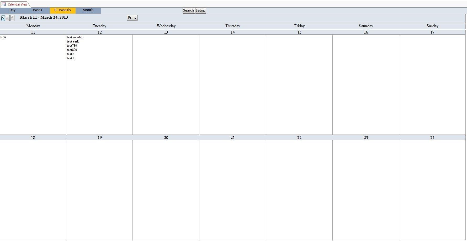 Bi-Weekly+Calendar+Template | Calendar Template, Schedule-Schedule Biweekly Templates Free Printable