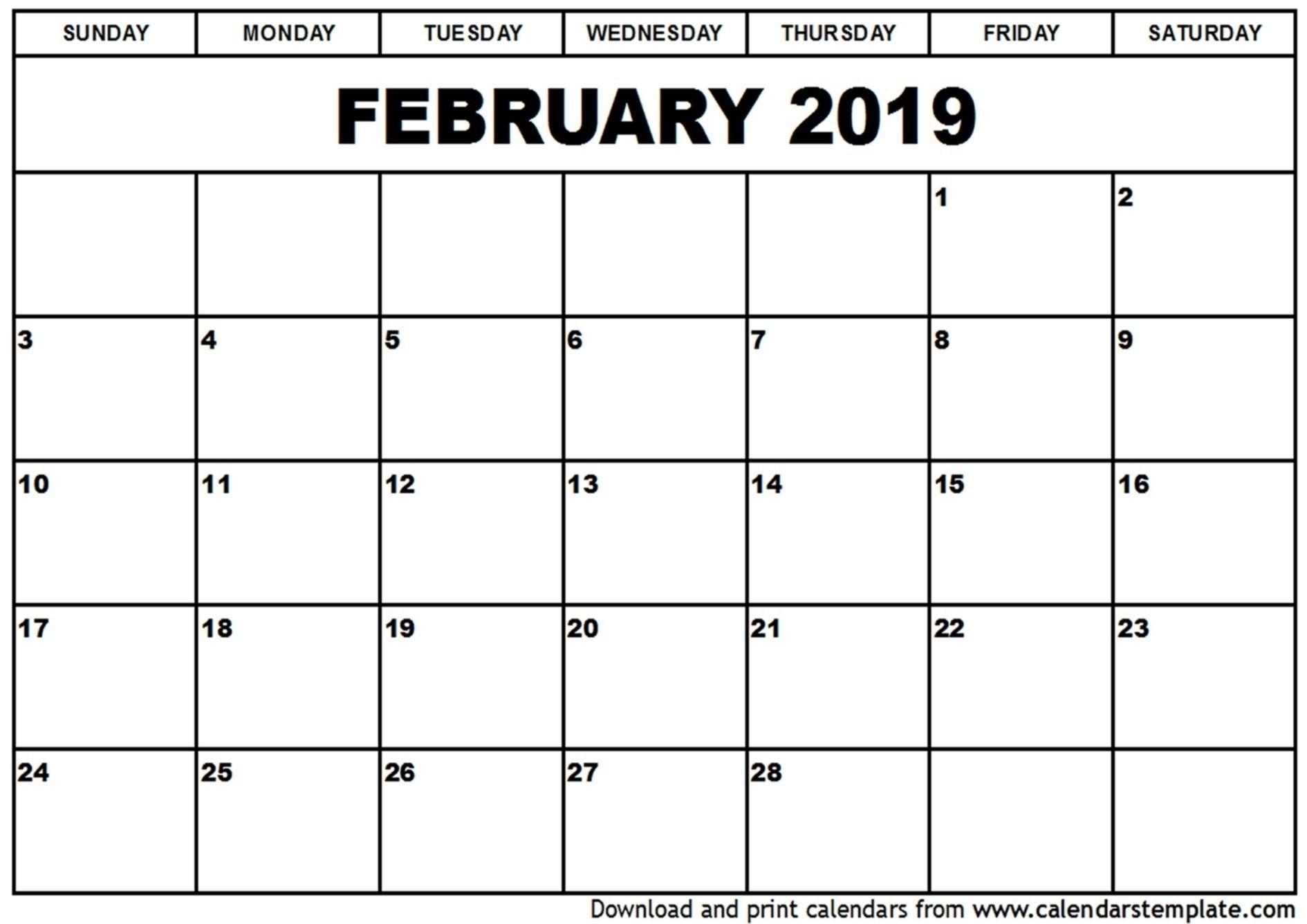 Calendar Labs 2019 Monthly Printable | Kostilka-Calendar-Calendar Labs Monday Start Monthly Calendar