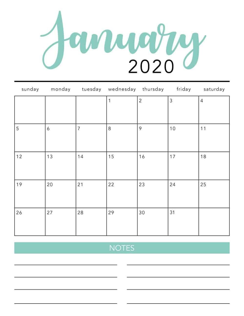 Calendar Printable Free 2020 - Monte-Free Monthly Bill Printable 2020