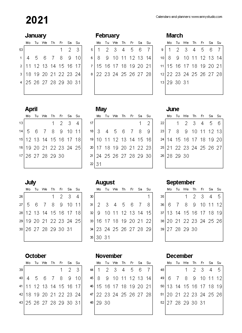Free Printable Calendars And Planners 2020, 2021, 2022-Financial Calendar Template Australia 2020-2020