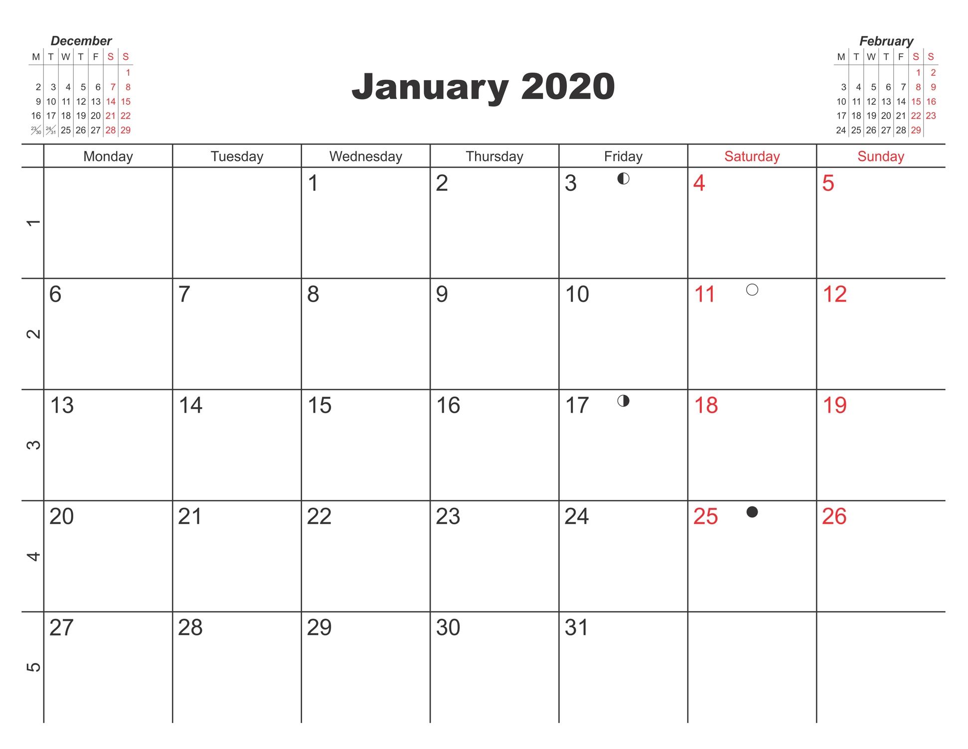 Online January 2020 Calendar Uk Holidays - 2019 Calendars-2020 Uk Monthly Calendar Uk