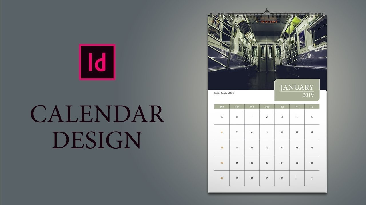 Only 16 Minutes: How To Design Calendar In Indesign-2020 Calendar Template Indesign