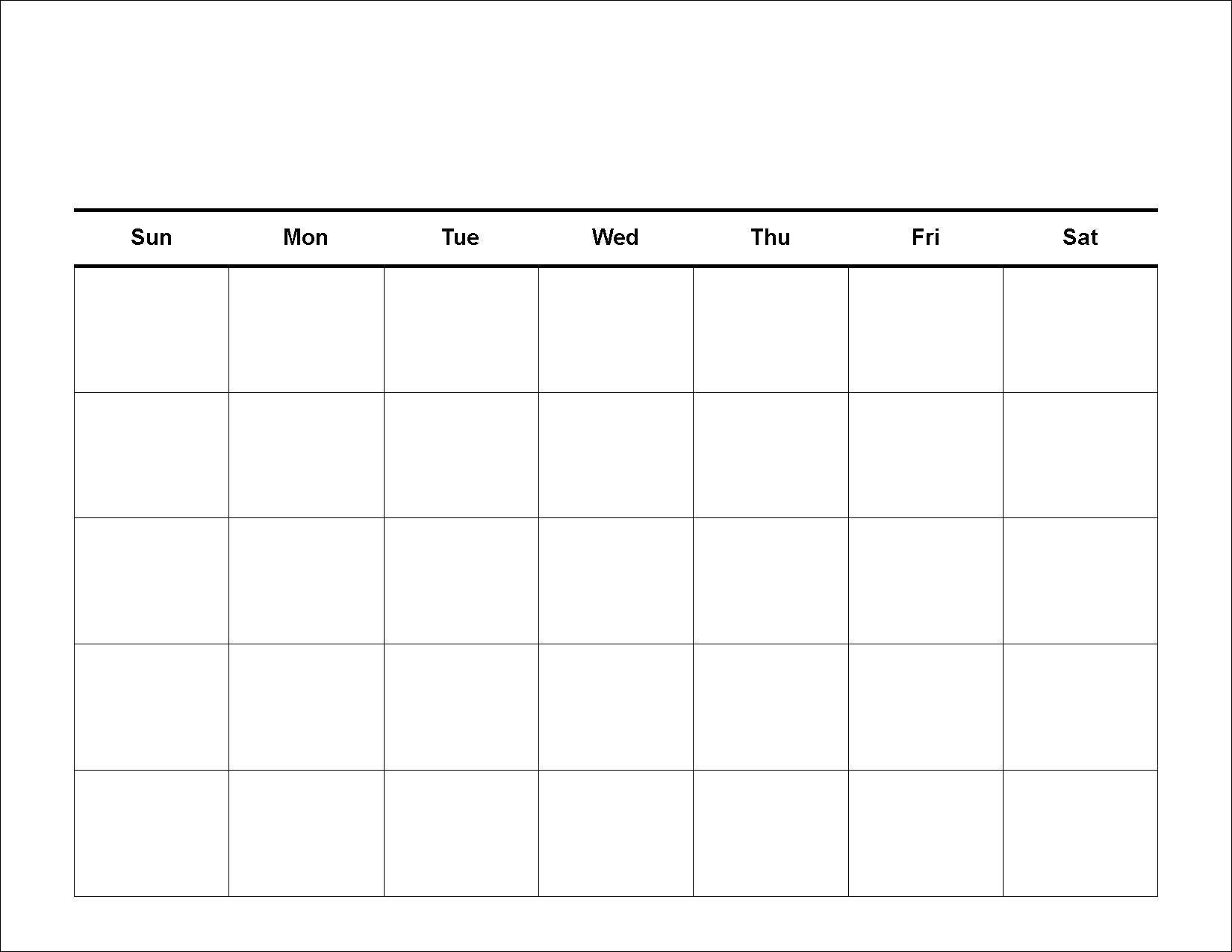 Printable Calendar Grid Leonescapersco Free 2 Week Blank-Blank Calendar Grid Printable