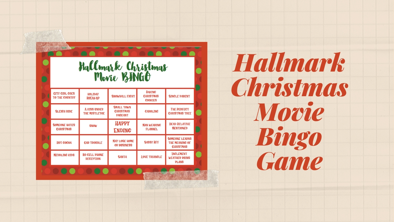 Super Cute Hallmark Christmas Movie Bingo Game For The Holidays-What Are Hallmark Holidays