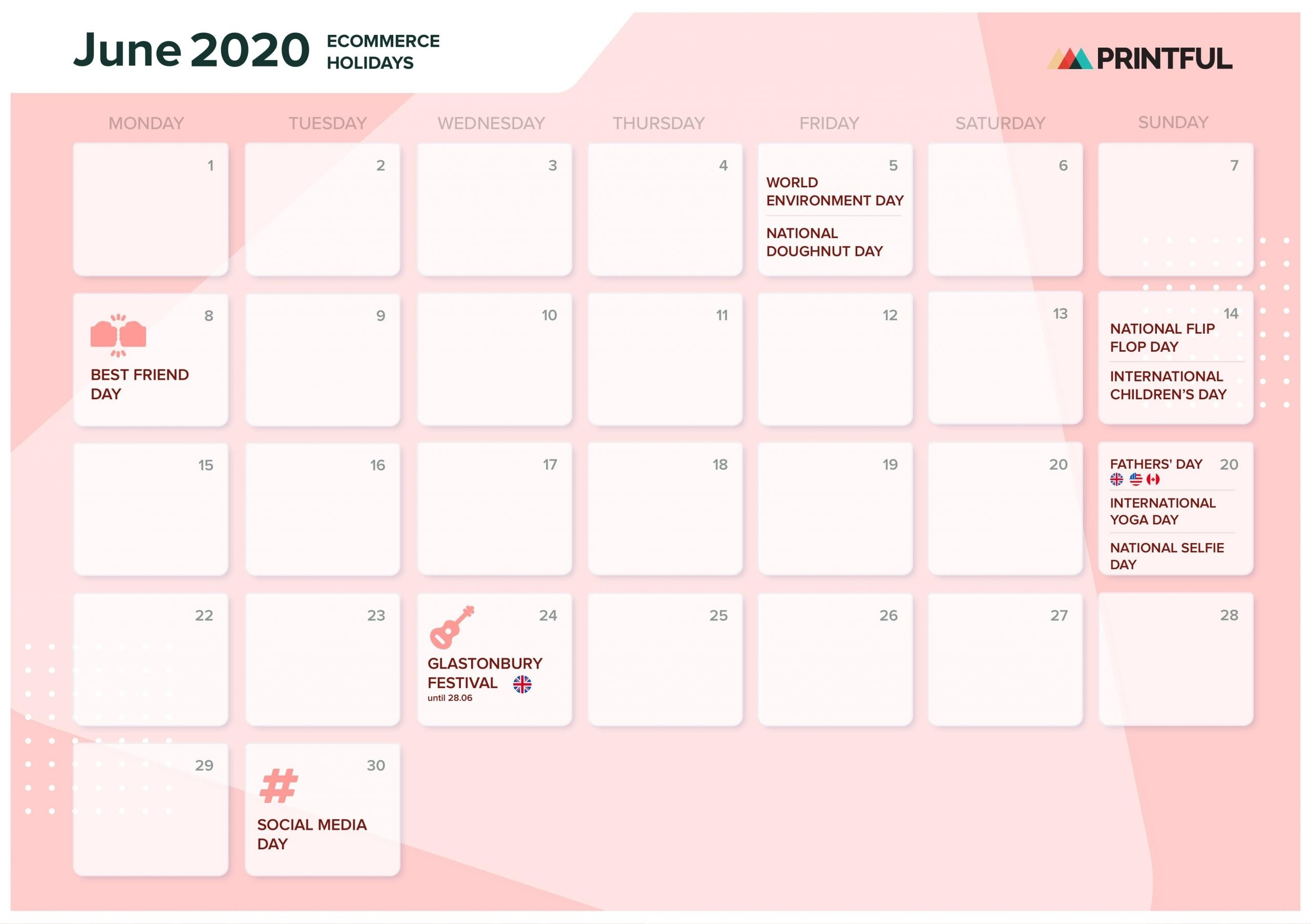 The Ultimate 2020 Ecommerce Holiday Marketing Calendar-National Food Holidays In Usa 2020