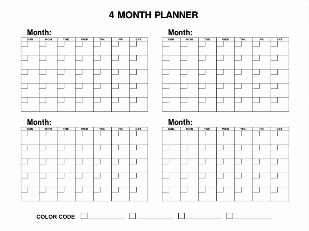 Three Month Printable Calendar - Monte-3 Month Blank Printable