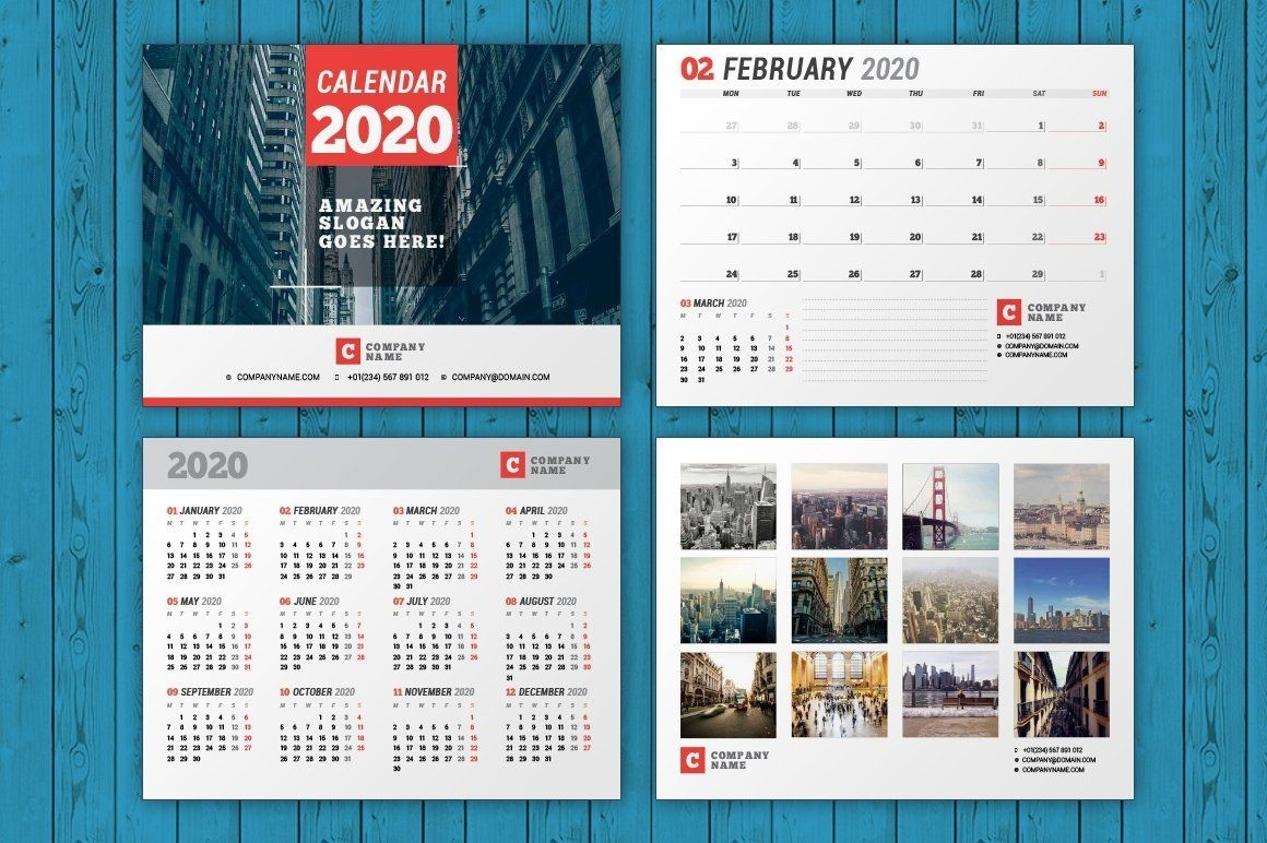 Wall Calendar 2020 (Wc037-20) | Wall Calendar, Calendar 2020-2020 Calendar Template Indesign