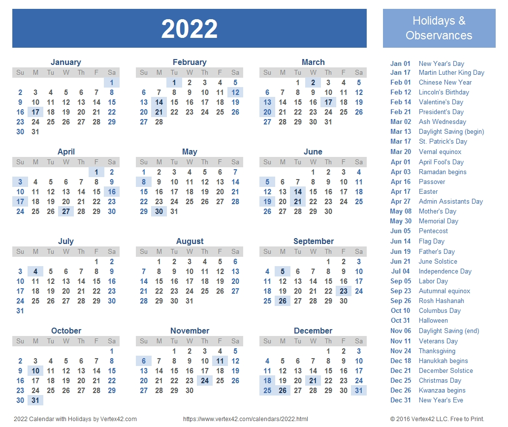 2022 Calendar Templates And Images-Blankcalendar Week Of 7/22