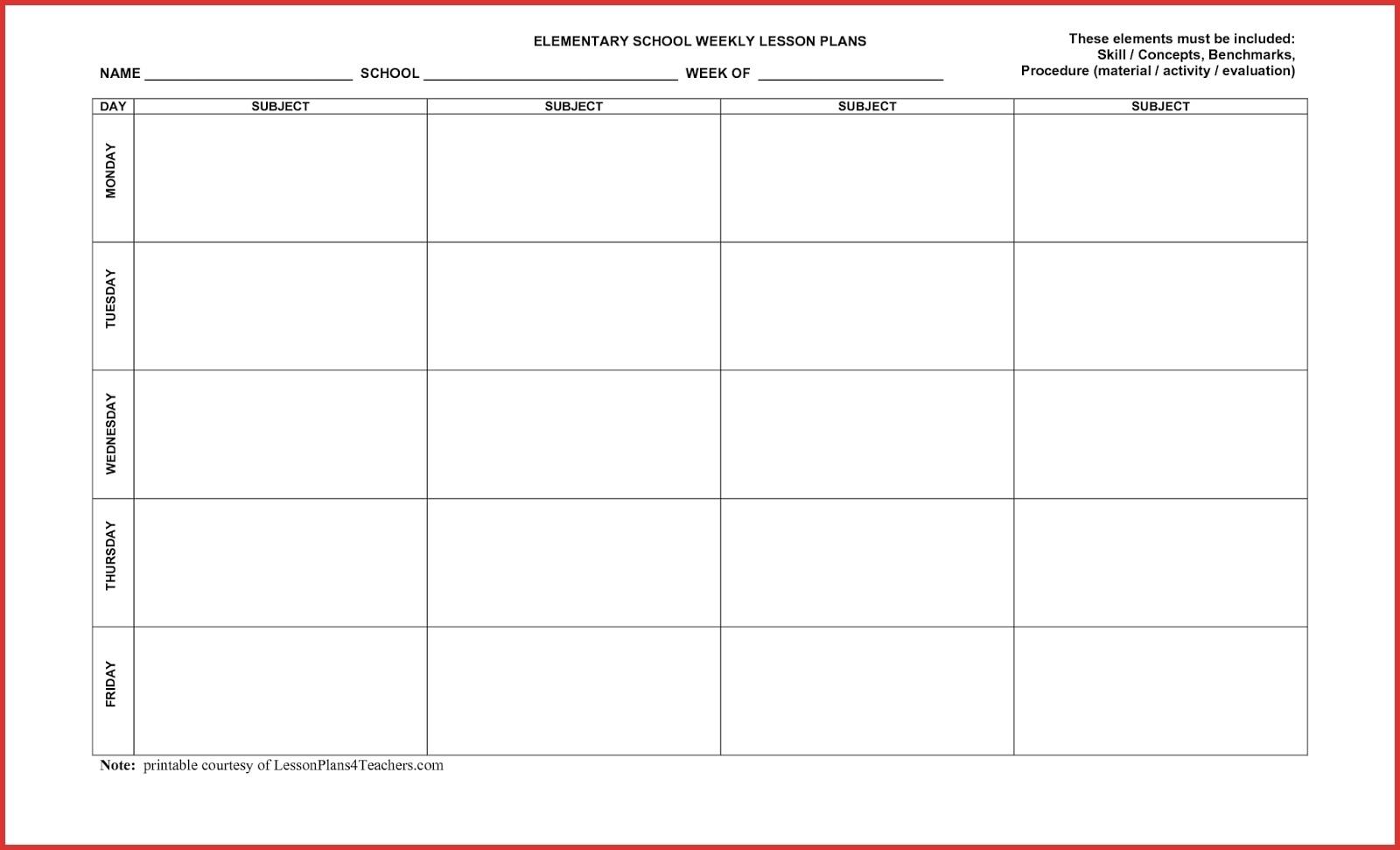 5 Day Week Calendar Printable - Calendar Inspiration Design-5 Day Week Calender Template