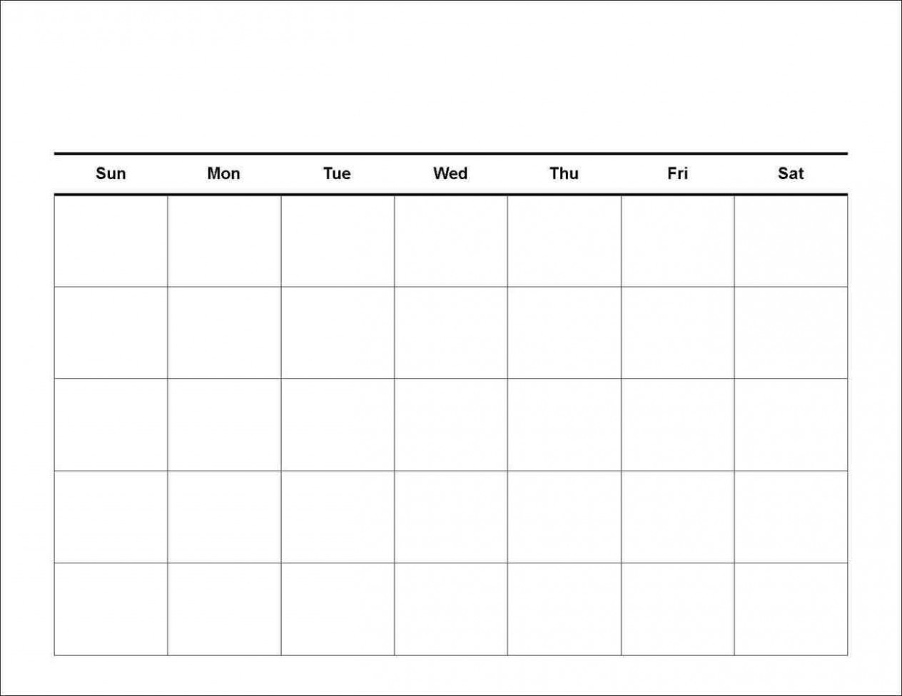 5 Shocking Facts About 5 Day Weekly Schedule Template-5 Day Week Calender Template