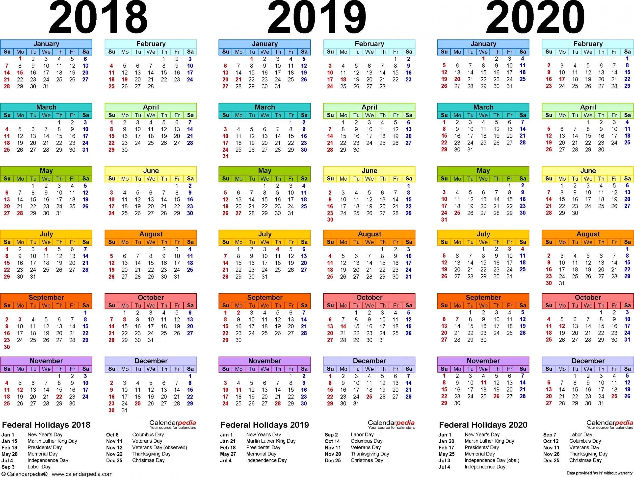 2019 And 2020 Calendar Template Fill In | Calendar Template Printable Monthly Yearly-Fill In Year Calendar Template