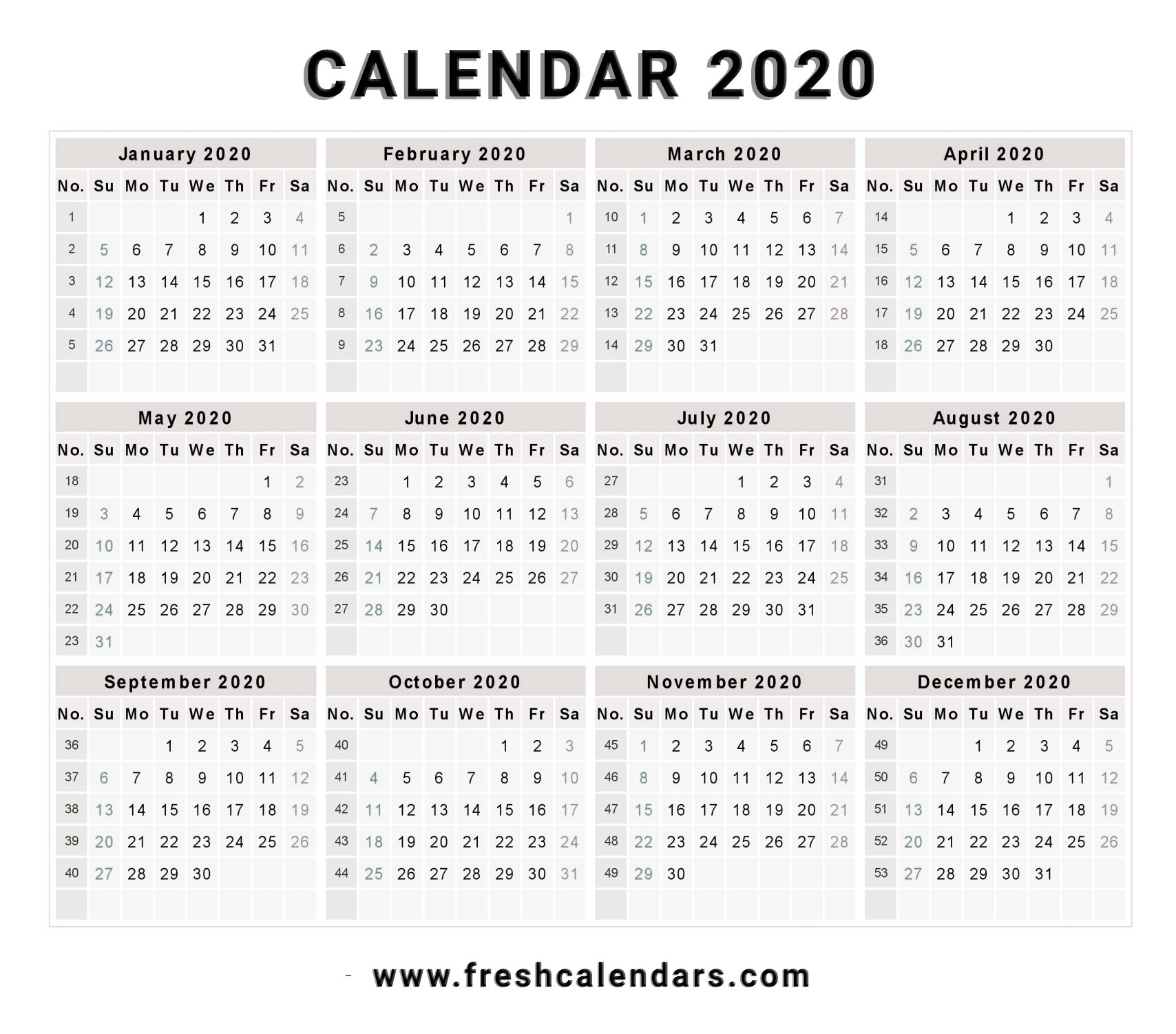 2020 Calendars To Fill In - Calendar Inspiration Design-Monthly Fill In Calendar 2021