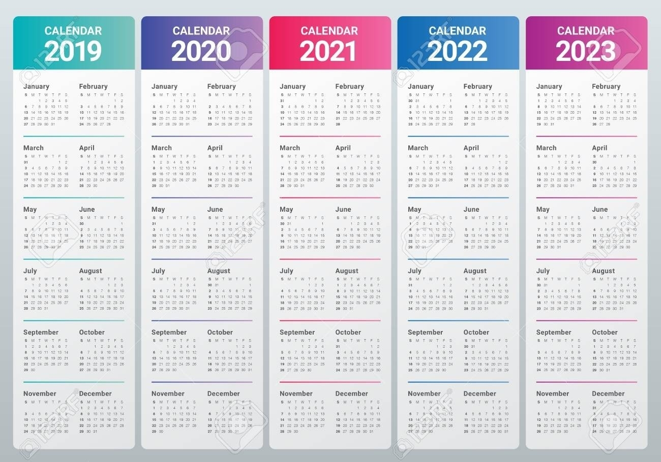 2020 To 2023 Calendars - Calendar Inspiration Design-3 Year Calendar 2021 To 2023