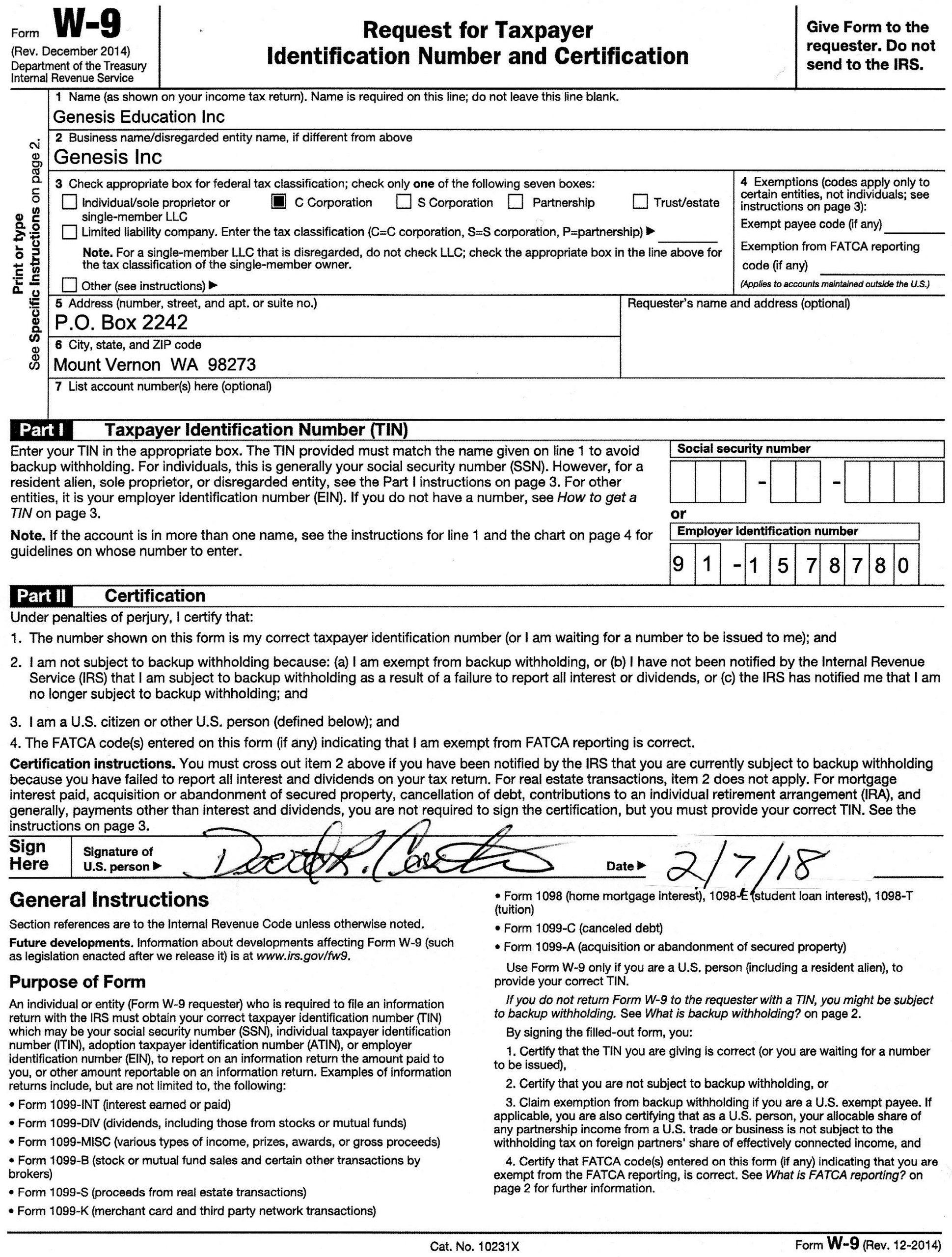 2020 W9 Printable Blank | Calendar Template Printable-W-9 Form 2021 Printable Pdf