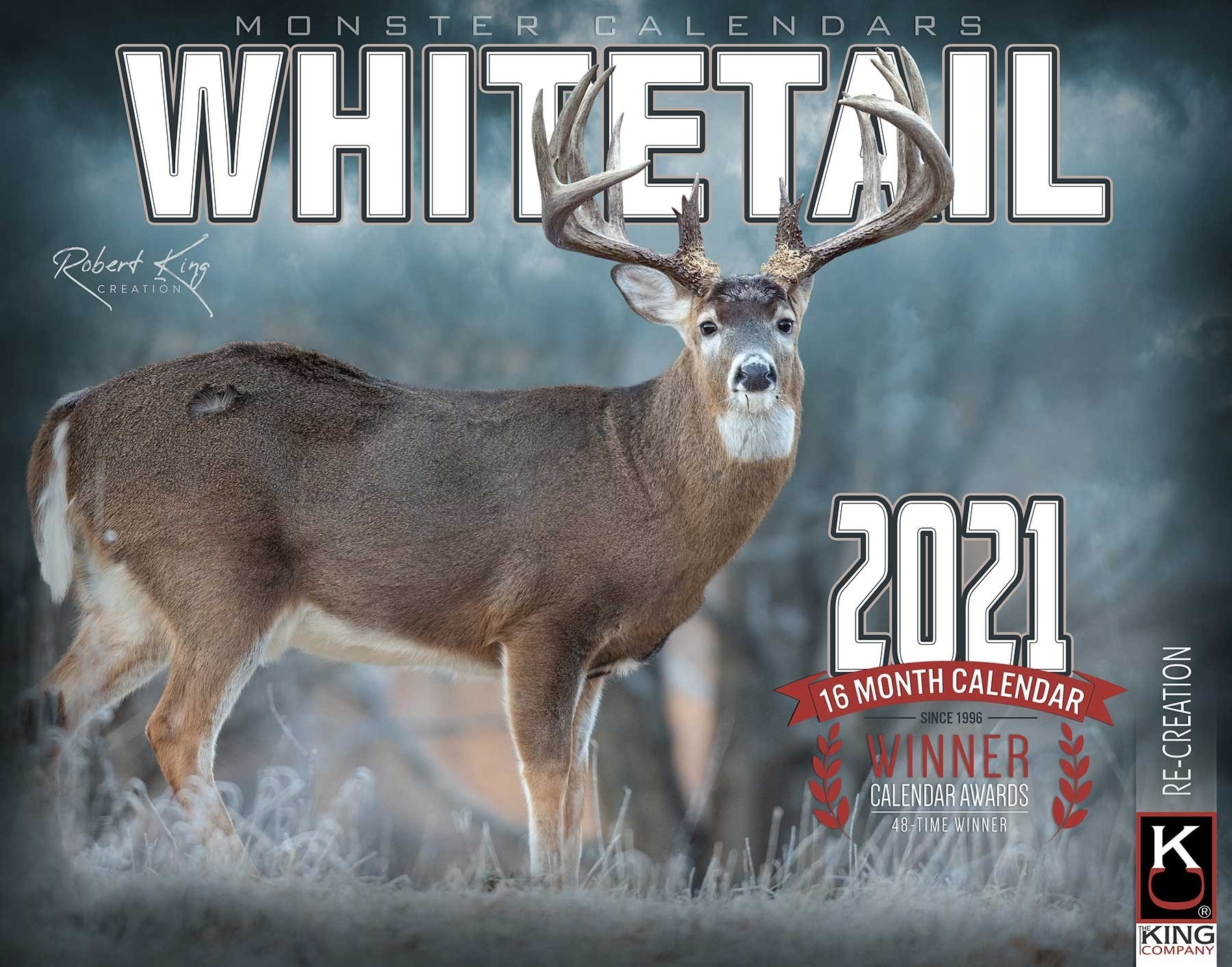 2021 Whitetail Deer Calendar, 2021 Whitetail Buck Calendar-2021 Deer And Deer Hunting Rut Calendar