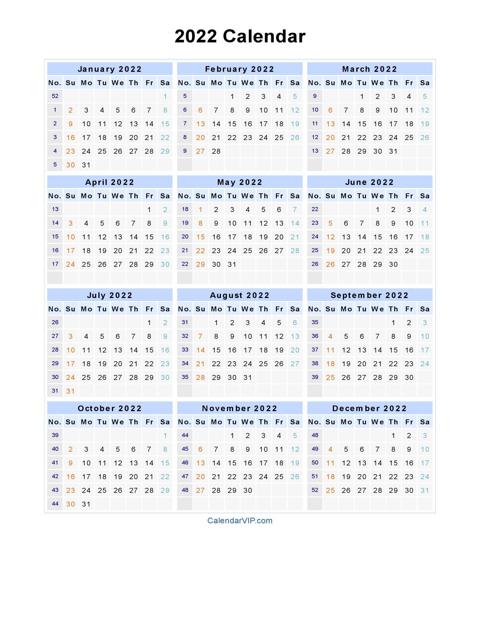 3 Year Calendars 2021 2022 2023 Free Printable | Calendar ...