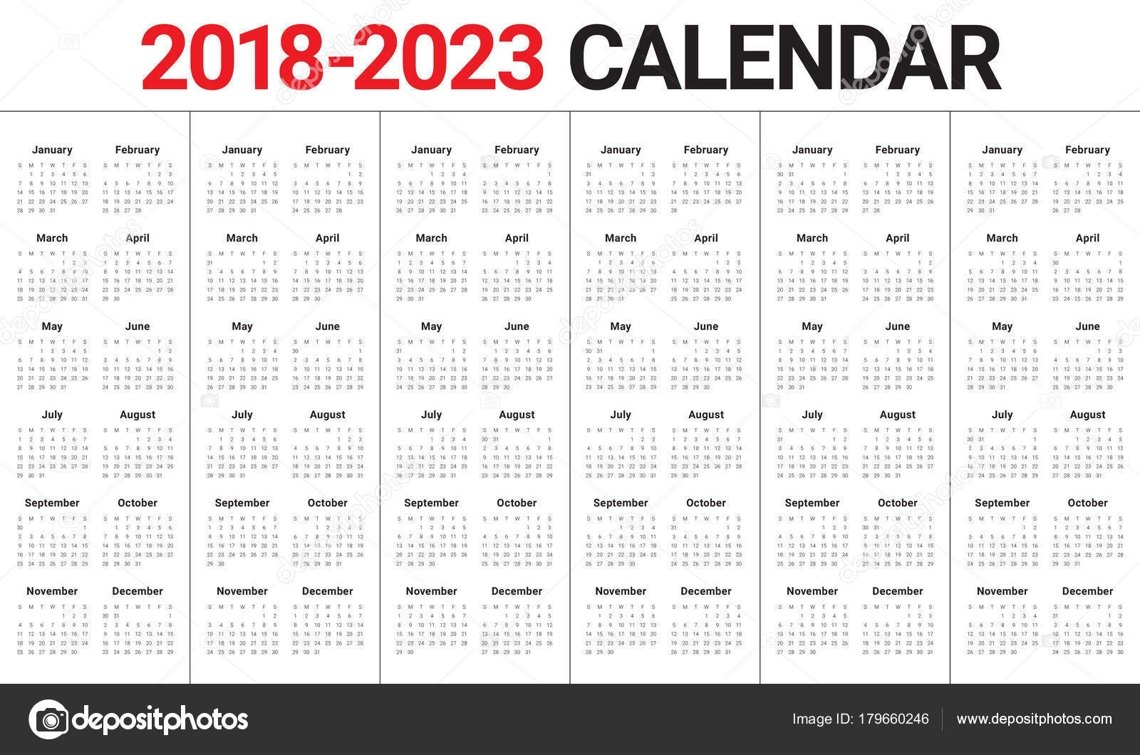 3 Year Calendar 2021 To 2023 | Calendar Printables Free Templates-3 Year Calendar 2021 To 2023