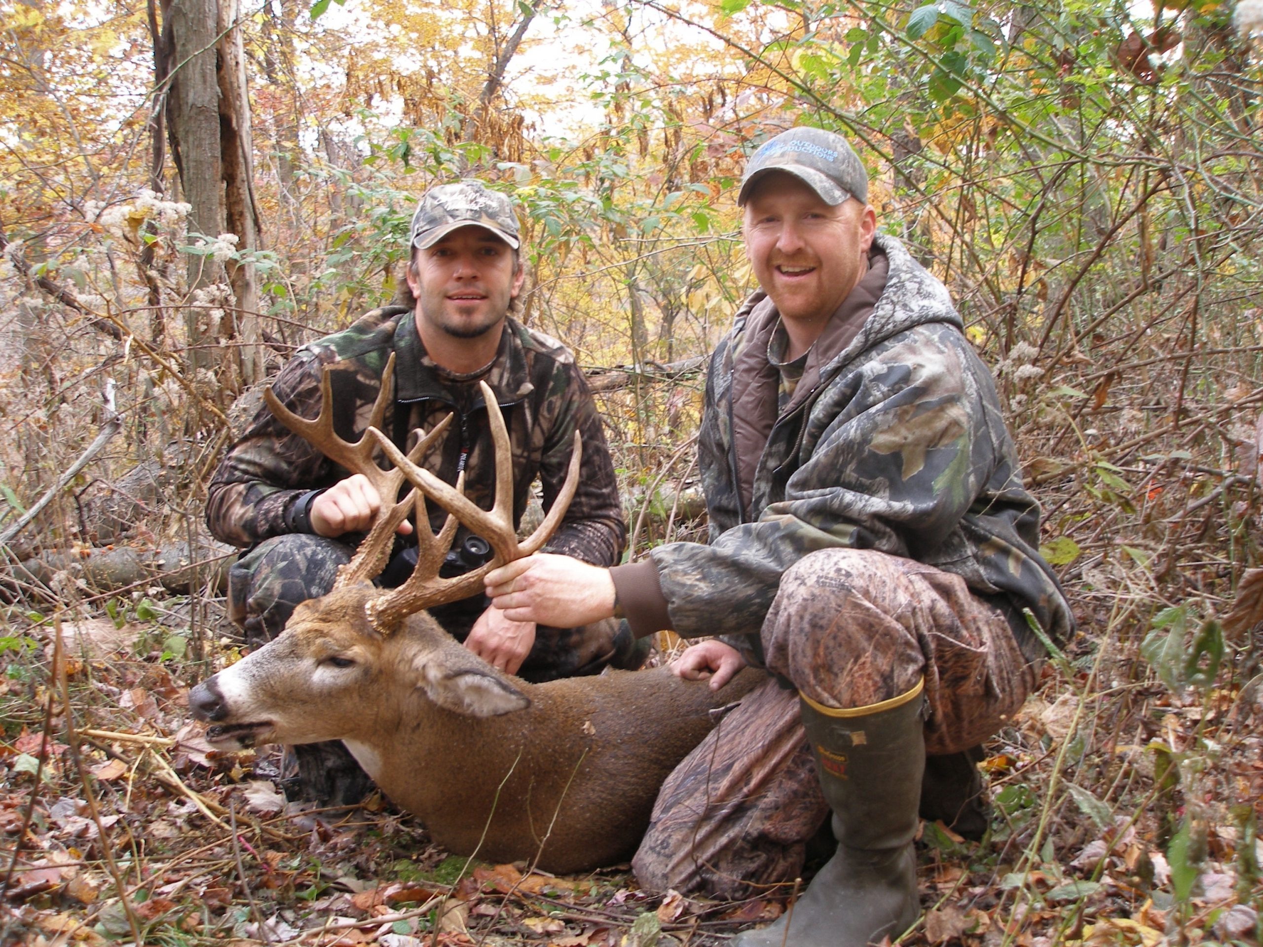 All Outdoors, Llc Cabin Property - Huntsspecial Moment Right Here Surprising Cody With His Dads-2021 Ohio Deer Rut