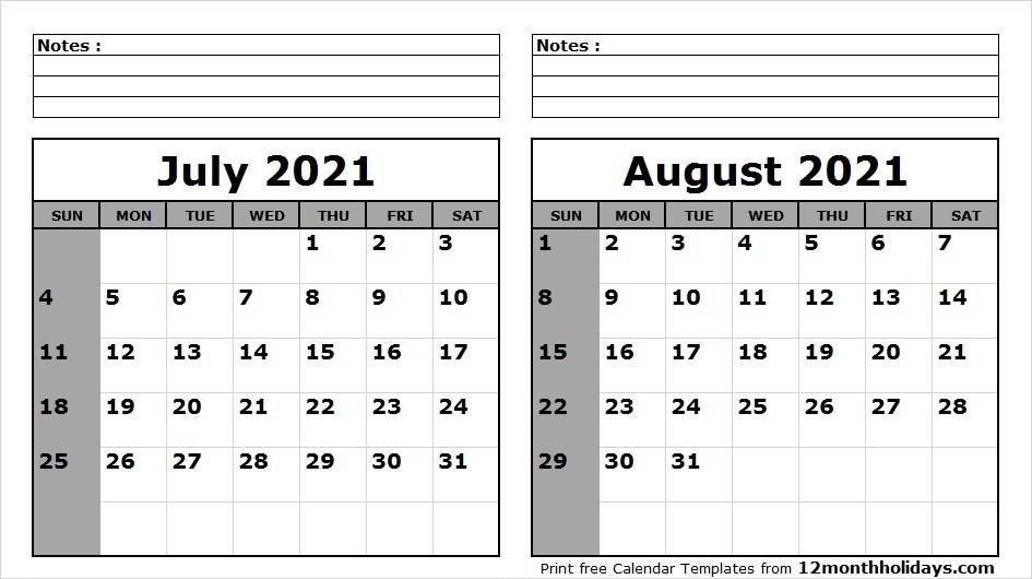 August 2021 Calendar Free | Calvert Giving-2021 4 Shift Calendar