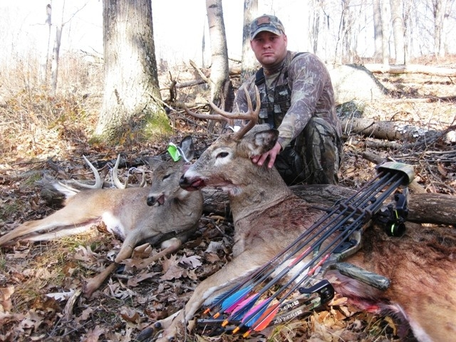 Big Whitetail From Ogdensberg, Wi On 11/5/2010 | Whitetailfirst-Whitetail Rut In Wisconsin